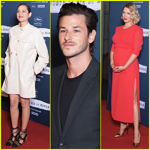 Marion Cotillard Joins Pregnant Lea Seydoux At 'It's Only the End of the World' France Premiere!