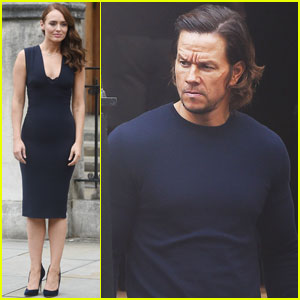 Mark Wahlberg Gets to Work on 'Transformers: The Last Knight' With Laura Haddock in London
