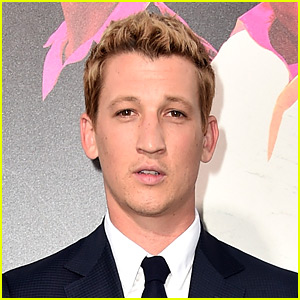 Miles Teller Jokingly Apologizes to Internet for Dyeing His Hair
