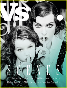 Milla Jovovich Poses With Daughter Ever for 'Vs. Mag' Cover