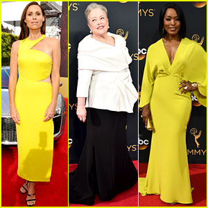 Minnie Driver, Angela Bassett, & Kathy Bates Are All Ready for Emmys 2016