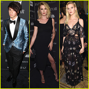 Dylan Jagger Lee, Ireland Baldwin & Nicola Peltz Celebrate at Harper's Bazaars' Icons Event