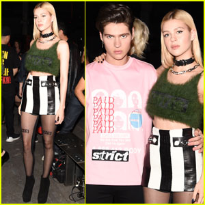 Nicola & Will Peltz Step Out For Alexander Wang Show at NYFW