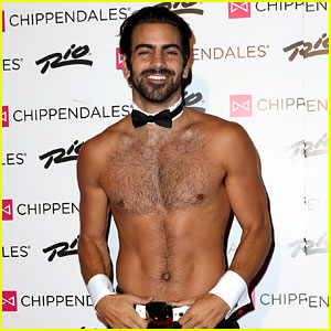 Nyle DiMarco Looks So Hot for Shirtless Chippendales Debut