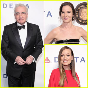 Olivia Wilde, Juliette Lewis, & More Honor Martin Scorsese with Entertainment Icon Award!