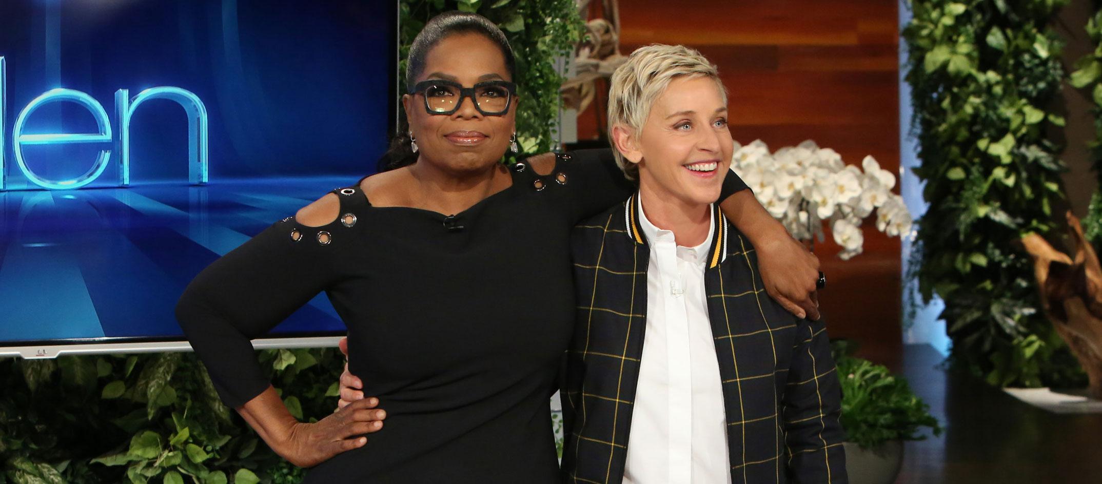 Oprah makes surprise cameo in ellen degeneres star studded magic michelle video ellen - Ellen show address ...
