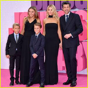 Patrick Dempsey & Family Attend 'Bridget Jones's Baby' Premiere!