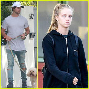 Patrick Schwarzenegger Spends His Afternoon House Hunting in WeHo!