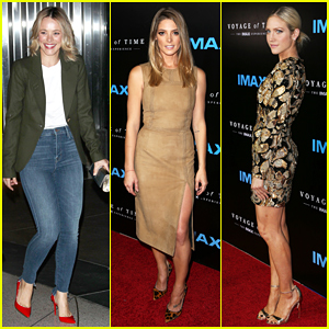 Rachel McAdams, Brittany Snow & Ashley Greene Step Out For 'Voyage of Time: The IMAX Experience' Premiere!
