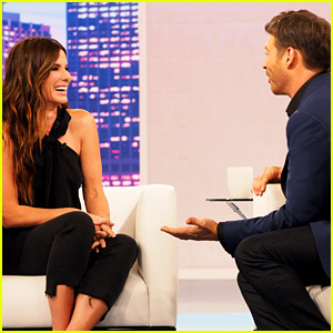 Sandra Bullock Reunites with Harry Connick Jr., Talks About Her Kids on His Talk Show