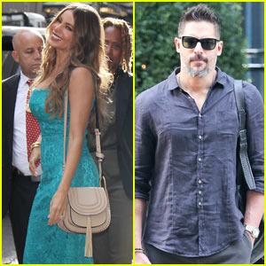 Sofia Vergara & Joe Manganiello Enjoy a Romantic Lunch in Turks & Caicos After NYC Trip!