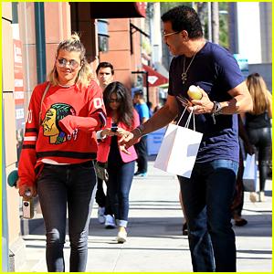 Lionel Richie Embarrasses Daughter Sofia Richie While Out in LA