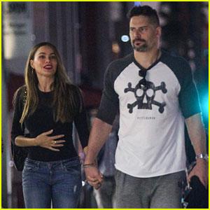 Sofia Vergara & Joe Manganiello Hold Hands on Their Date Night