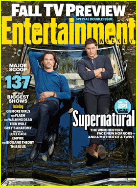 'Supernatural' Lands 'Entertainment Weekly' Fall 2016 TV Cover