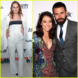 Tatiana Maslany & Boyfriend Tom Cullen Couple Up at Pre-Emmys Party!