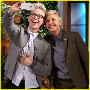 Tyler Oakley Announces Exciting News with Ellen DeGeneres!