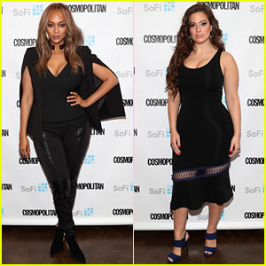Tyra Banks & Ashley Graham Share Their Wisdom at Cosmo's Fun Fearless Money Event