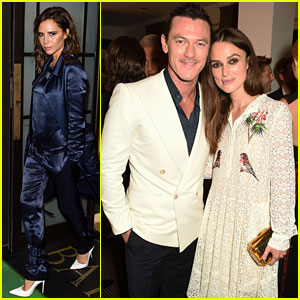Victoria Beckham & Keira Knightley Attend BAFTA A Night to Remember