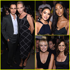 Lots of Celebs Hit Up Zac Posen's NYFW Show!