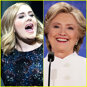 Adele Endorses Hillary Clinton, Says 'Don't Vote for Him'
