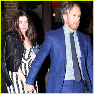 Anne Hathaway Has Date Night in NYC with Husband Adam Shulman