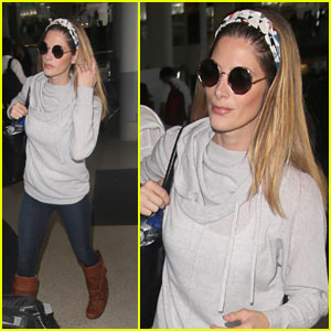 Ashley Greene Jets Out of LAX After Shading Joe Jonas