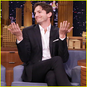 Ashton Kutcher Rips His Pants While Talking About Daughter Wyatt On 'The Tonight Show'! (Video)