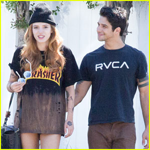 Bella Thorne & Tyler Posey Spend Sunday Together!
