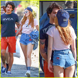 Tyler Posey & Bella Thorne Show Off PDA After He Admits Crush