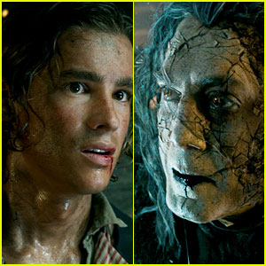 Javier Bardem & Brenton Thwaites Star in 'Pirates of the Caribbean 5' Teaser Trailer!