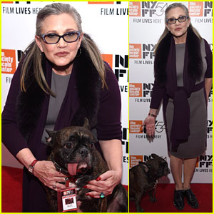 Carrie Fisher Walks Red Carpet After Saying Donald Trump 'Absolutely' Uses Cocaine