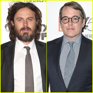 Casey Affleck & Matthew Broderick Premire 'Manchester by the Sea' at NYFF 2016