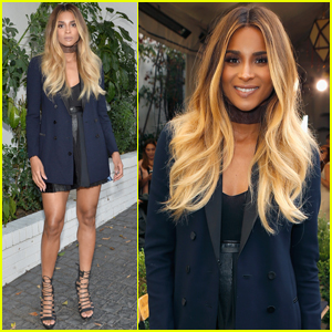 Ciara Steps Out After Making Pregnancy Announcement
