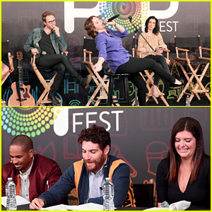 'Crazy Ex-Girlfriend' & 'Happy Endings' Casts Make Appearance at EW's PopFest!