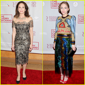 Diane Lane & Tavi Gevinson Celebrate 'The Cherry Orchard' Broadway Opening Night!