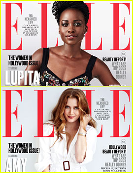 Lupita Nyong'o, Amy Adams, & More Cover Elle's Women in Hollywood Issue!