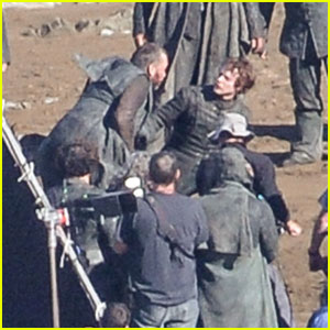 'Game of Thrones' Stars Film Fight Scene on Spain Beach