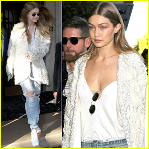 Gigi Hadid Beefs Up Her Security After Kim Kardashian Incident