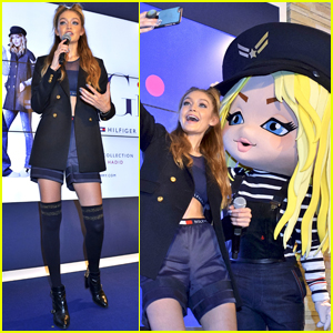 Gigi Hadid Brings Her 'TommyxGigi' Clothing Line to Japan!