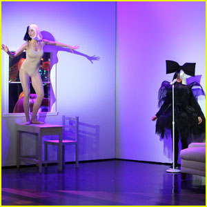 Heidi Klum Dresses Up as Maddie Ziegler on 'The Ellen Show'