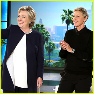 Hillary Clinton Talks Debate Drama During 'Ellen' Interview!