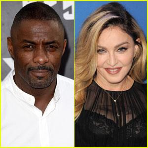 Idris Elba Comments on Madonna Romance Rumors