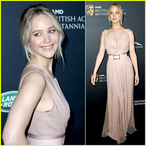 Jennifer Lawrence Stuns at Britannia Awards in Beverly Hills!