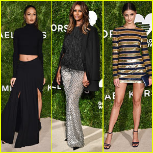 Joan Smalls, Iman, & More Bring High Fashion to God's Love We Deliver 2016 Golden Heart Awards