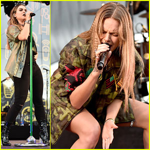 JoJo & Tove Lo Perform at Entertainment Weekly's PopFest