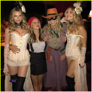 Kate Hudson & Gwyneth Paltrow Go Wild West For Her Halloween Bash