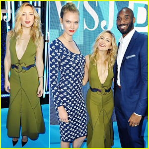 Kate Hudson Buddies Up with Karlie Kloss & Kobe Bryant At WSJ.D LIVE After Dark!