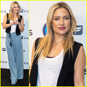 Kate Hudson Teams Fabletics Up With CFDA For Fashion Targets Breast Cancer Collaboration!