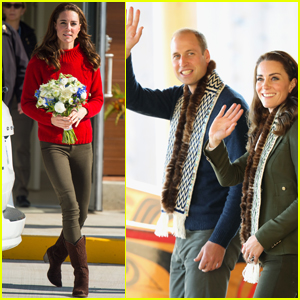 Kate Middleton & Prince William Continue Their Royal Tour of Canada
