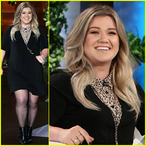 Kelly Clarkson Reveals Secret She's Never Told Anyone on 'Ellen' - Watch Now!